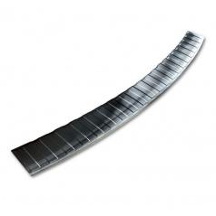 Nerez kryt- čierna ochrana prahu zadného nárazníka BMW X1 E84 2012-15