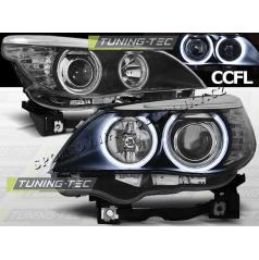 BMW E60, 61 04-07 Angel Eyes black (LPBM64)