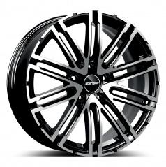 Alu koleso GMP TARGA black diamond 9,0x22 5x112 ET26