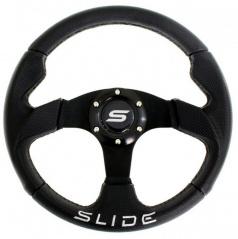 Športový volant čierny semiš 320 mm