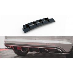 Vložka zadného nárazníka pre Škoda KodiaQ Sportline, Maxton Design (plast ABS bez povrchovej úpravy)