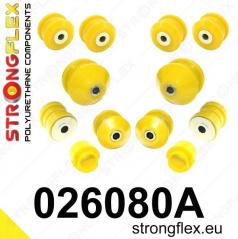 Škoda Superb Strongflex Šport zostava silentblokov len pre prednú nápravu 12 ks