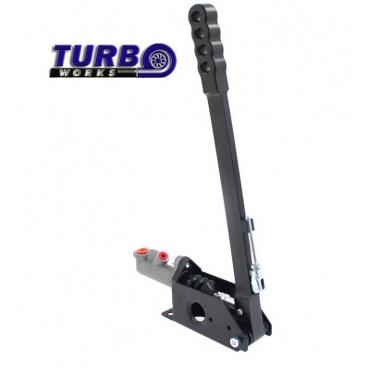 Ručná brzda hydraulická TurboWorks čierna (páka 42 cm)