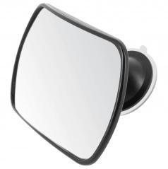 Najuniverzálnejší zrkadlo pre kontrolu vašich detí na zadnom sedadle 165x105 mm
