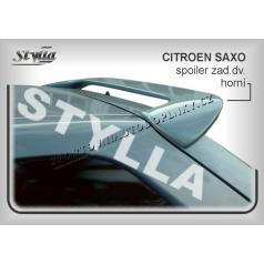 Citroen Saxo (96+) spoiler zadných dverí horný (EÚ homologácia)