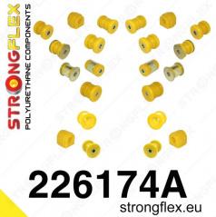 VW Jetta StrongFlex Sport kompletní sestava silentbloků 22 ks