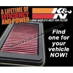 K&N Air Intake system Ford Fiesta