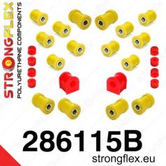 Nissan 200SX S14 1994-99 StrongFlex sestava silentbloků jen pro zadní nápravu 20 ks