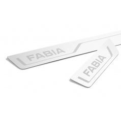 Dekoratívne lišty prahové Škoda Fabia III