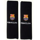 Originálne návleky na pásy s logom FC Barcelona čierne