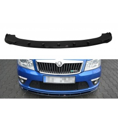Spoiler pod predný nárazník Ver.1 pre Škoda Octavia RS Facelift Mk2, Maxton Design (plast ABS bez povrchovej úpravy)