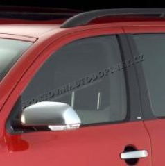 Kryty dverových stĺpikov - ABS karbon, Škoda Octavia II Limousine