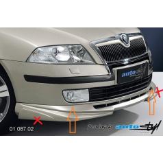 Škoda Octavia II spoiler pod predný nárazník