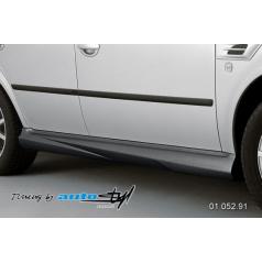 Škoda Octavia 2001 nástavky prahov - čierný dezén