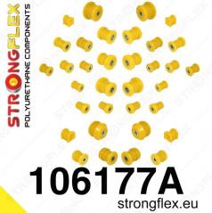 Mazda RX8 StrongFlex Sport kompletní sestava silentbloků 34 ks