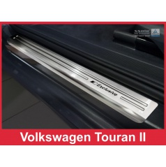 Nerez ochranné lišty prahu dveří 4ks Volkswagen Touran 2 2015-17