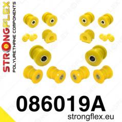 Honda CRX 1992-97 StrongFlex Sport sestava silentbloků jen pro přední nápravu 14 ks