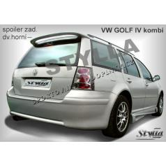 Volkswagen Golf IV combi 98+ spoiler zadných dverí horný (EÚ homologácia)