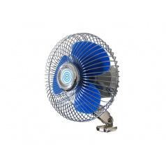 Ventilátor do auta veľký, kovový 18 cm priemer