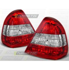 MERCEDES W 202 C-KLASA 1993-00 ZADNÍ LAMPY RED WHITE (LTME02)