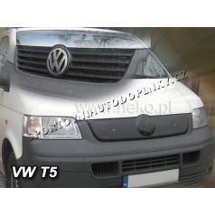 Zimná clona - kryt chladiča VW T5 (Transporter / Caravelle) 2003 - 2010 (4 rebrá masky)