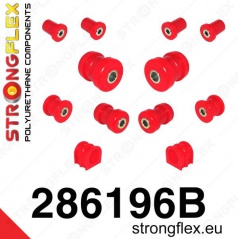 Infinity G35 2003-07 StrongFlex sestava silentbloků jen pro přední nápravu 12 ks