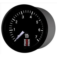 Stack elektronický budík tlak oleja 52 mm ST3301