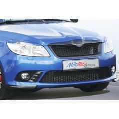 Rozšírenie predného nárazníka, ABS - čierna metalíza Škoda Fabia II RS 09/2010 +