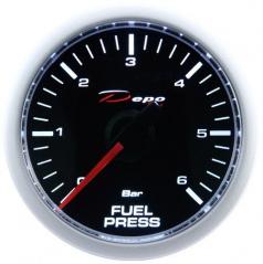 Prídavný budík Depo Racing tlak paliva 52 mm