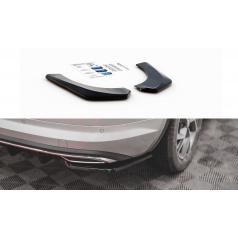 Bočné difúzory pod zadný nárazník pre Škoda KodiaQ Sportline, Maxton Design (plast ABS bez povrchovej úpravy)
