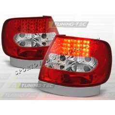 AUDI A4 (B5) 1994-00 zadné LED lampy RED WHITE (LDAU02)