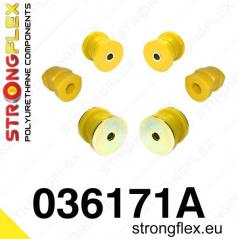 BMW rad 7 Strongflex Šport zostava silentblokov len pre prednú nápravu 6 ks