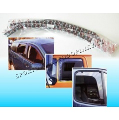Ford Puma 3D (97-02) ofuky na okná predné