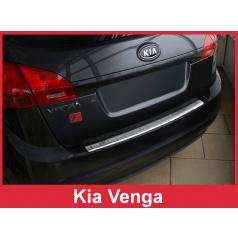 Nerez kryt-ochrana prahu zadního nárazníku Kia Venga 2009-13