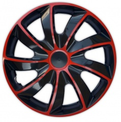 "Kryty kolies Quad Bicolor Red 13-16"" (po 1 ks)"