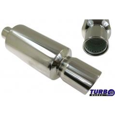 Športový výfuk TurboWorks guľatá koncovka II (76 mm vstup)