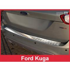 Nerez kryt- ochrana prahu zadního nárazníku Ford Kuga I 2008-12