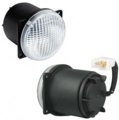 Svetlá pre denné svietenie LED 1 - guľaté Wesa - 80x96 mm, 1 ks