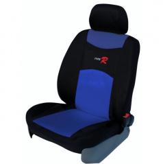 Autopoťahy Type R-Škoda Superb I-nedelená zadná sedačka + lakťová opierka-modré