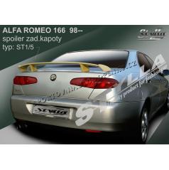Alfa Romeo 166 98+ spoiler zadnej kapoty (EÚ homologácia)