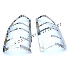 Mercedes Benz Sprinter W901 99-06 - NEREZ chrom kryty zadních světel - OMSA LINE