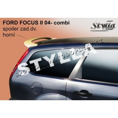 Ford Focus II combi 04+ spoiler zadných dverí horný (EÚ homologácia)