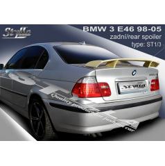 BMW 3, E46 Sedan 98-05 spoiler zadnej kapoty (EÚ homologácia)
