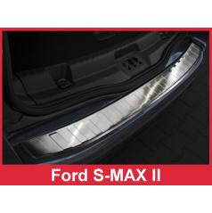 Nerez kryt- ochrana prahu zadného nárazníka Ford S-MAX II 2015-16