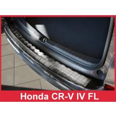 Nerez kryt- ochrana prahu zadního nárazníku Honda CR-V IV FL 2015+