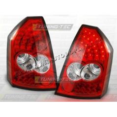 CHRYSLER 300C 2005-10 ZADNÍ LED LAMPY RED WHITE (LDCH02)