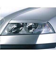 Kryty svetlometov Milotec (mračítka) - ABS čierny, Škoda Octavia II