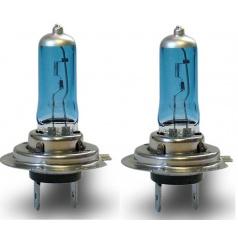 Halogénové žiarovky H7 (svietivosť 5000K !!!!) 2 ks