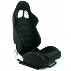 Sportovní polohovatelná sedačka A1 Racing BLAST Carbon Black