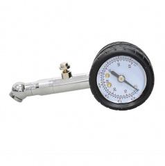 Merač tlaku pneumatík kovový do 4 Bar, odpúšťací ventil